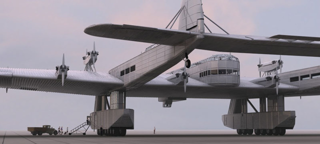 The Nazi UFO-Fighting Soviet Megaplane That Never Was