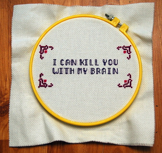 Needlepoint Samplers Put the Whedonverse in Stitches