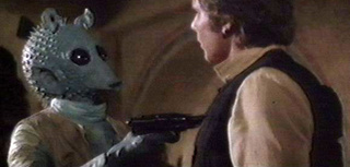 What If Greedo Really Shot First?