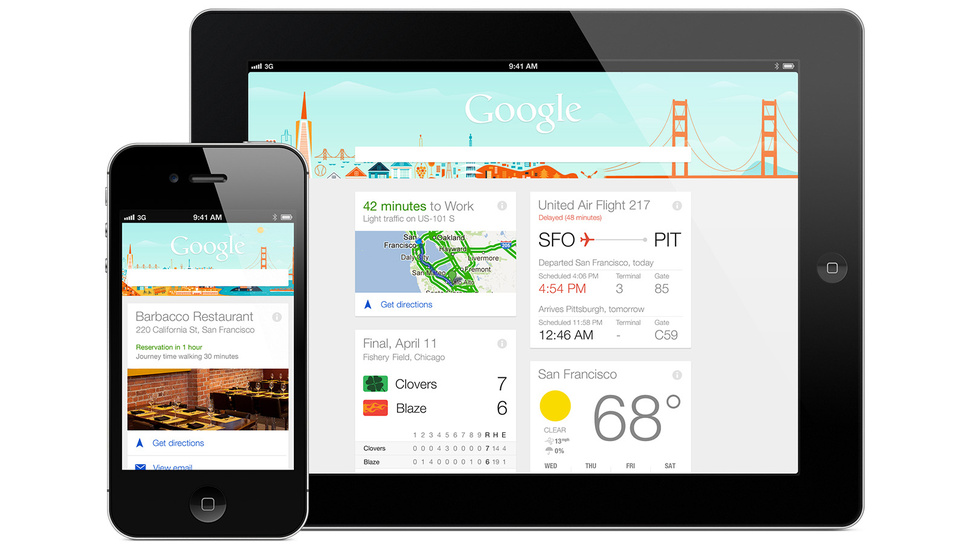 Google Now for iPhone and iPad: It's Here, and It's Great