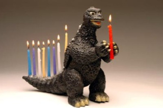 Godzilla Will Fill Your 8 Nights With Terror: Science Fictional Holiday Decorations