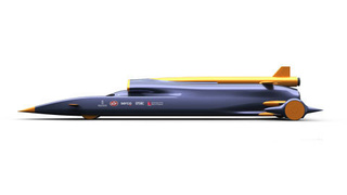 British Rocket Car Could Hit 1,000 MPH