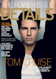 Tom Cruise Inherits Coveted K-Fed Spot on 'Details' Magazine's 2008 Power List