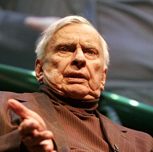 A First Draft of Gore Vidal's Illustrated Memoir