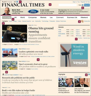 FT.com Redesign Is Blogalicious