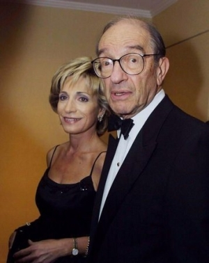 Shock: Andrea Mitchell In Bed With Greenspan!