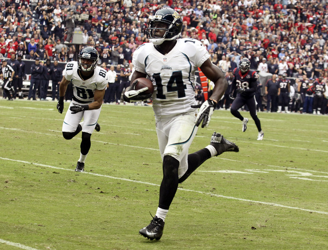 Jaguars receiver Justin Blackmon will sit out the first four ga…