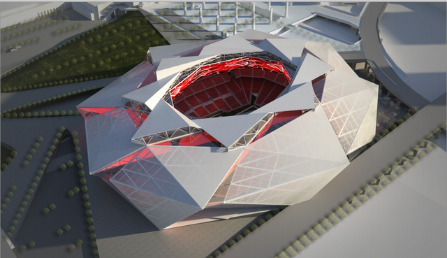 The Prospective Designs For The Atlanta Falcons' New Stadium Ar…