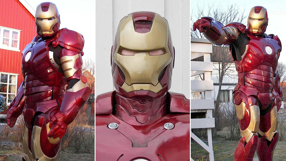 10 Diy Iron Man Suits That Give Tony Stark A Run For His