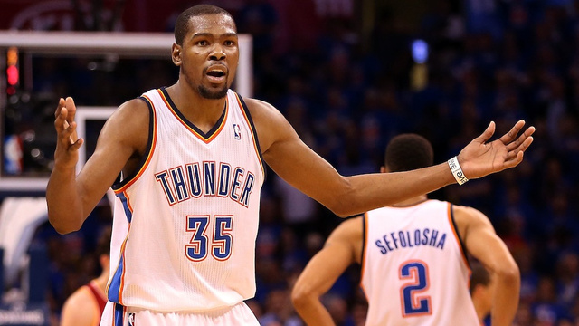 Kevin Durant Finds That Life Without Russell Westbrook Isn't Mu…
