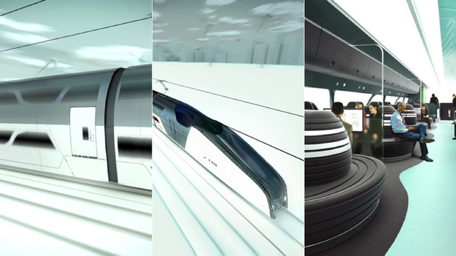 Hassell High-Speed Concept Train Serves Australian Luxury at Ludicrous Speed