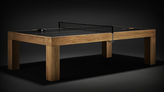 Ping Pong Tables Have Never Been So Classy