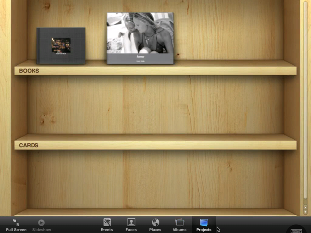 iPhoto Running on iPad Gallery