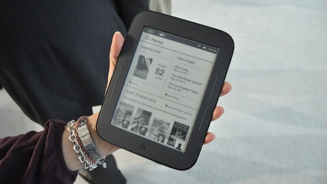 Nook Simple Touch Reader Impressions: Your Hands Will Love It