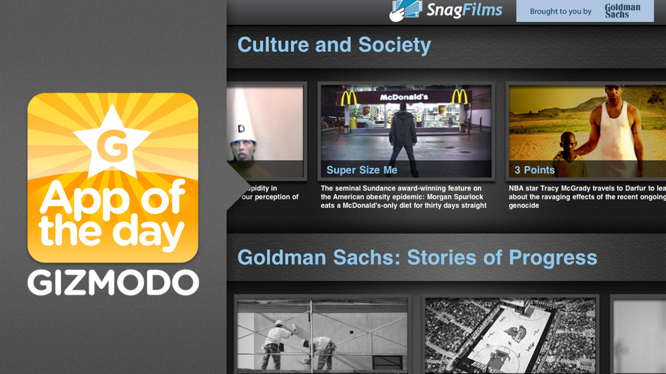 SnagFilm for iPad