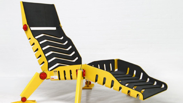 The Manliest Lounge Chair