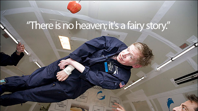 This Is What Stephen Hawking Thinks About Heaven
