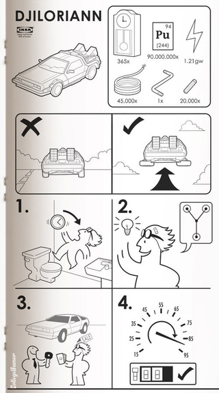 If Ikea Made Manuals For Sci-Fi Movies