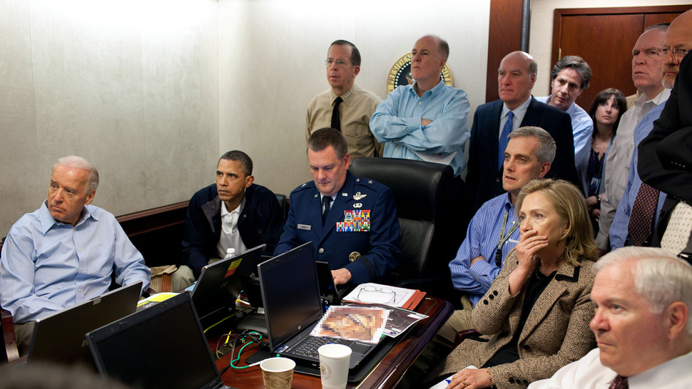 This Is Obama and His Team Watching Operation Kill bin Laden