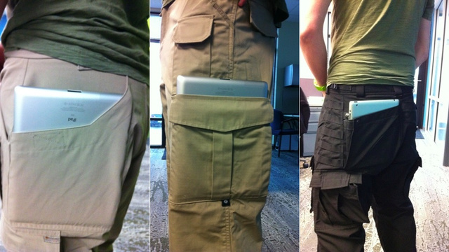 The Sad, Strange World of Tactical iPad 2 Pants