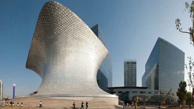 Here's An Anvil-Shaped Museum in Mexico City