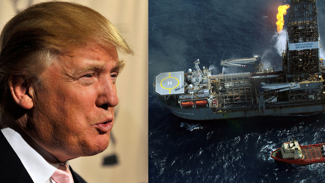 "Trump Offered Obama a BP Spill Fix and ""One of the Great Ballrooms of the World"""