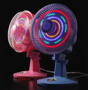 LED Fan: Tacky Blinkinlights