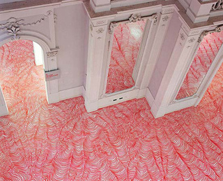 Can You Believe Someone Scribbled All Over These Floors?
