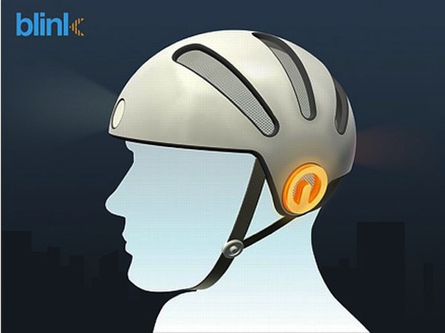 This Bike Helmet Has Built-In Turn Signals