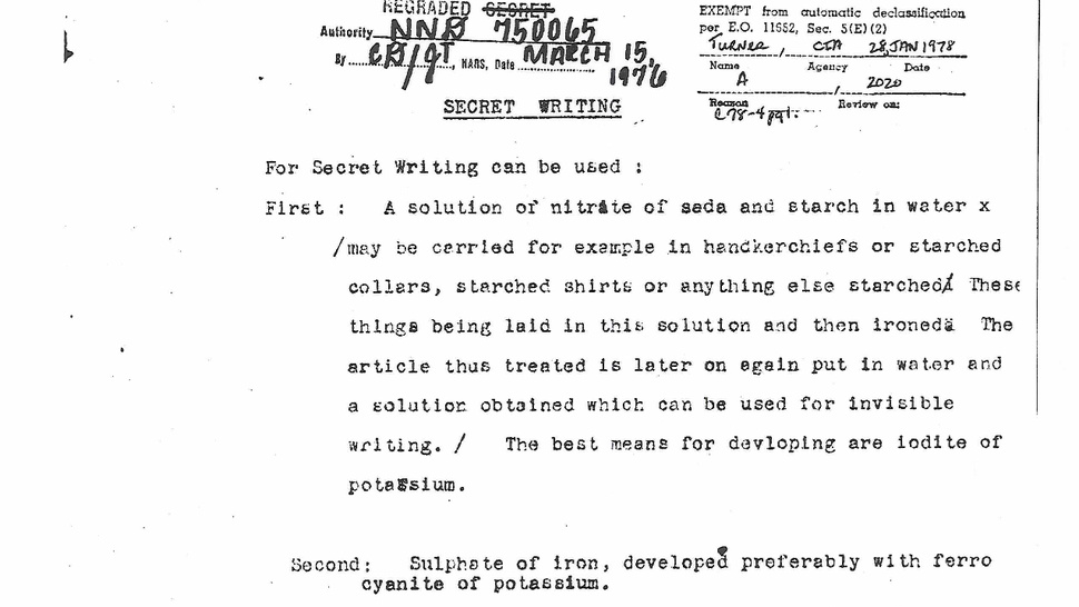 Declassified WWI Document 3 Gallery