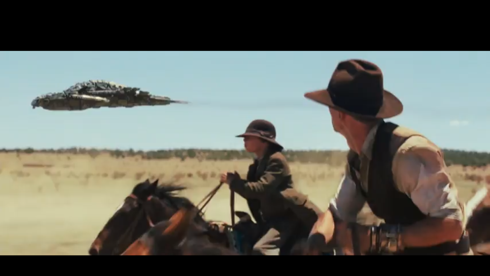 <em>Cowboys and Aliens</em> Looks DOPE