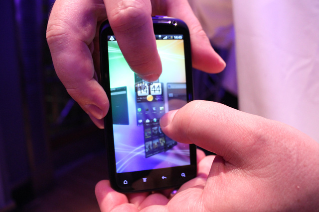 HTC Sensation Hands-On Pics Gallery