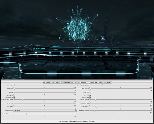 A Look at How Tron Legacy's Awesome Software Art Was Made