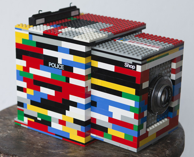 Lego 4x5 Camera: Building Brick by Brick, to Shoot Frame by Frame