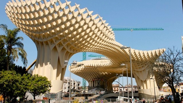 The World's Largest Wooden Structure Now Open For Business