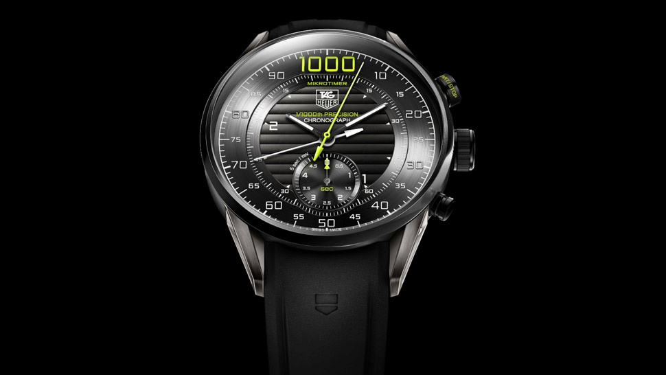 Tag Heuer's Mikrotimer Flying 1000 Watch Looks Like It's Trying to Take Off