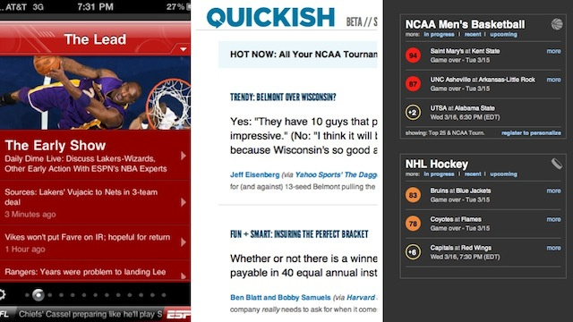 The Six Best Apps for March Madness