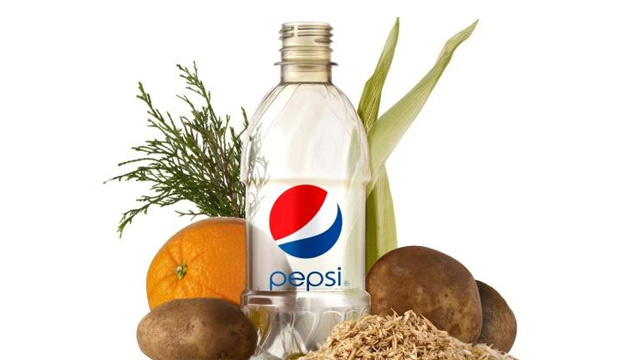 Behold Pepsi's 100% Plant-Based Plastic Bottle