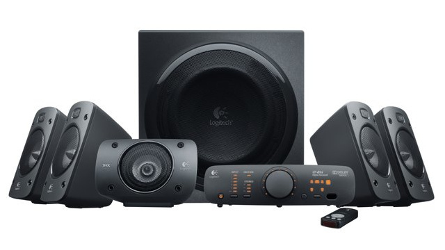 Logitech's Z906's Don't Look too Dorky for the Living Room