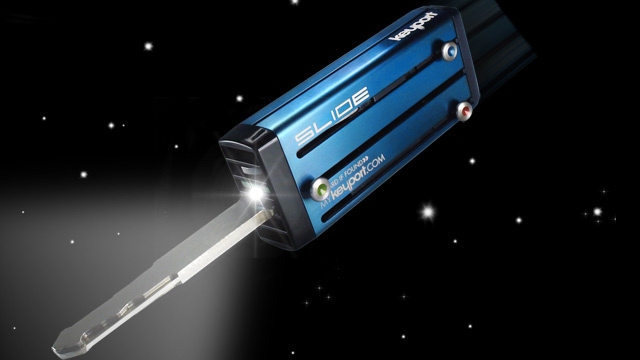 Keyport Slide Key Vault Gets LED Light Inserts