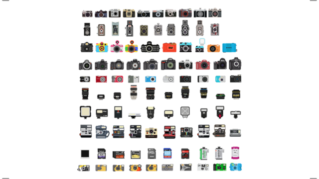 A Pixelated History of Cameras