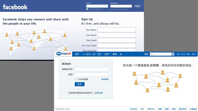 China Is Copying the Web Too