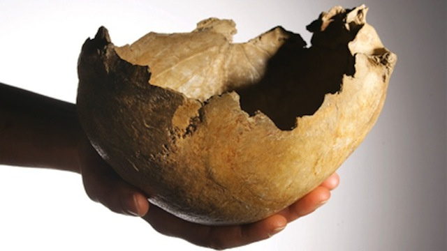 Ice Age People Used Human Skulls As Cups