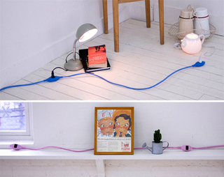 This Extension Cord is Really Spaced-Out