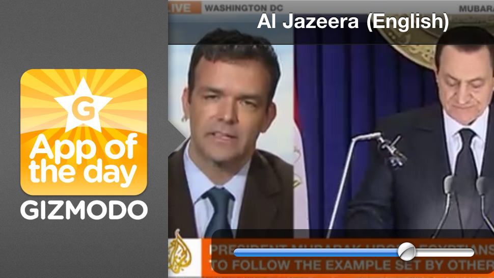 Al Jazeera English Live for iPhone