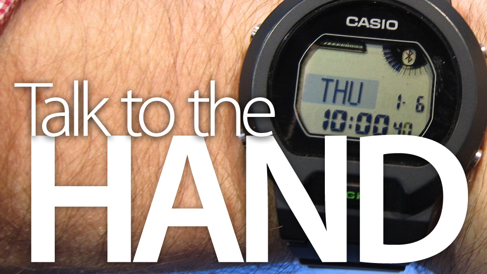 What Using Casio's Wireless Watch of the Future Is Like