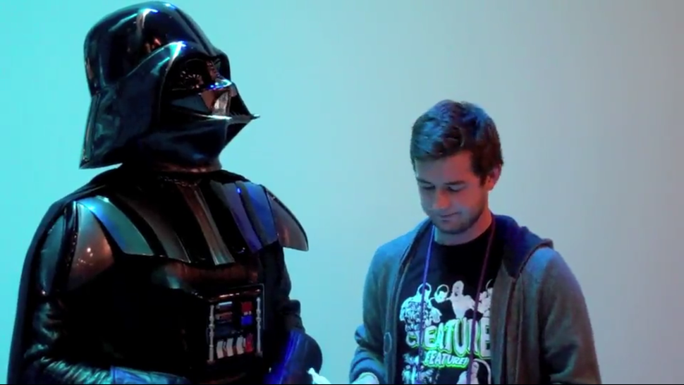Gizmodo Interviews Darth Vader, Man of Few Words