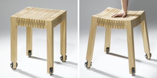 It's a Chair, It's Made From Wood and It's Flexible?