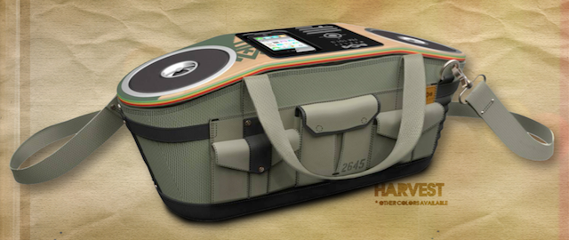 House of Marley Roots Rock iPhone Boombox Will Definitely Not Be Listened to While Smoking Weed