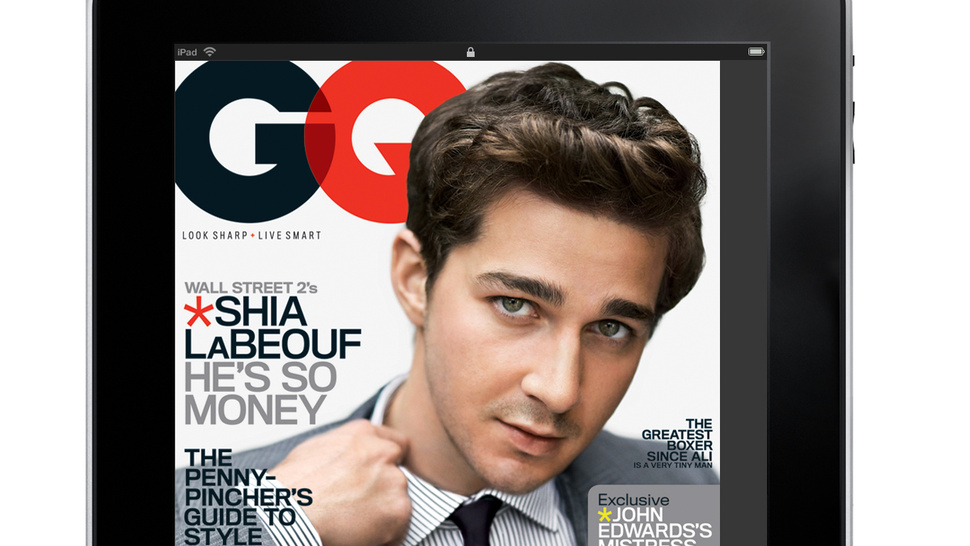 <i>GQ</i> Looks Great on the iPad, Even If You Just Read It For the Pictures